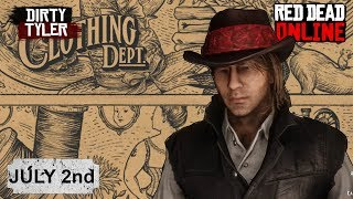Red Dead Online Catalog Update FREE ITEMS NEW CLOTHES WEAPON DISCOUNTS- July 2nd
