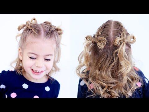 Dutch Braid Hair Bows | CuteGirlsHairstyles