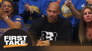 LaVar Ball won't be an issue for LeBron James, will be issue for Luke Walton | First Take | ESPN