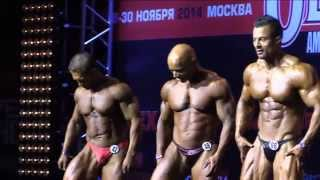 2014 Amateur Olympia Showdown Moscow, Overall
