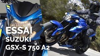 Essai Suzuki GSX S 750 (2019) (A2)