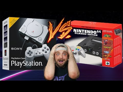 N64 Classic COMING To BATTLE PlayStation Classic?   RGT 85