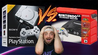 N64 Classic COMING To BATTLE PlayStation Classic? | RGT 85