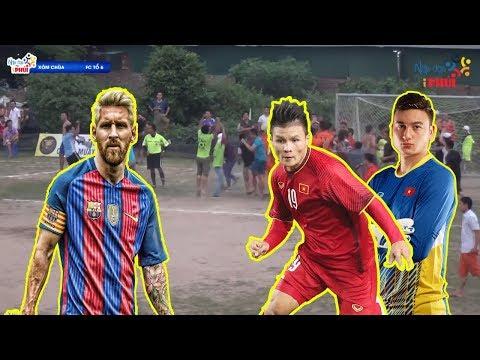 Bình luận Fun | Quang Hải Văn Lâm đối đầu với Messi - Việt Nam thắng Barca đầy cảm xúc