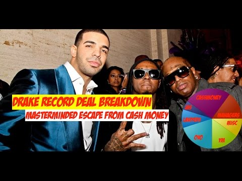 Breakdown of Drake's Record Deal. Did He Mastermind His Escape From Cash Money | JordanTowerNews