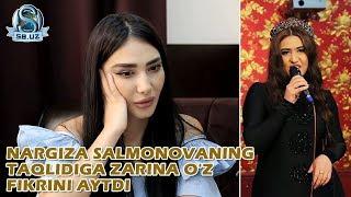 Nargiza Salmonovaning taqlidiga Zarina o'z fikrini aytdi!