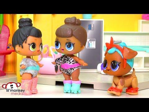 😳 LOL Surprise Dolls - Who STOLE my Earring???