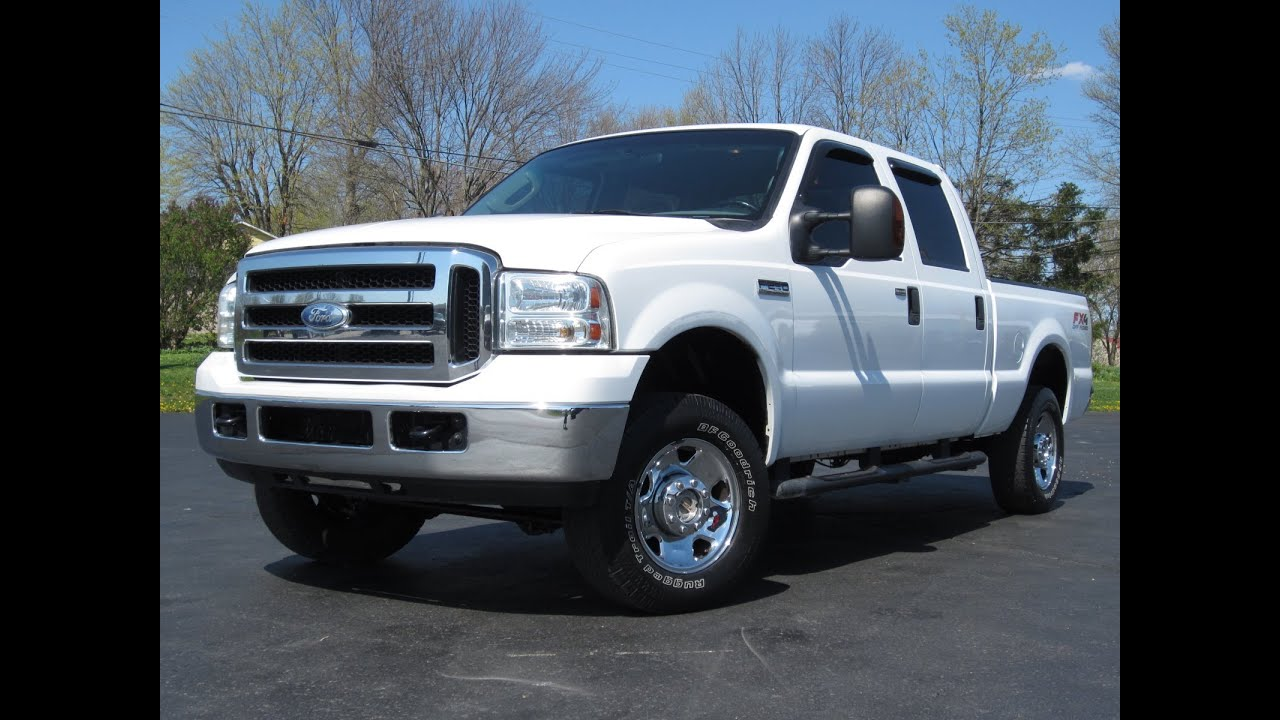 2006 ford f 250 xlt 4x4 5 4l triton v8 crew cab sold youtube