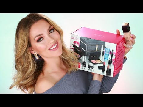 Lancome Makeup Tutorial   How to apply makeup for beginners   Beautiful Foundation for perfect skin