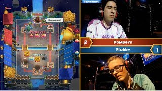 [ Semi Final ] POMPEYO VS FLOBBY | 2017 Gamergy Masters Clash Royale