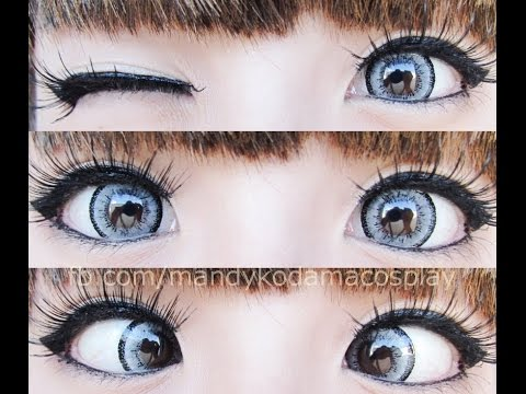 review circle lenses ifairy dolly grey  uniqso youtube