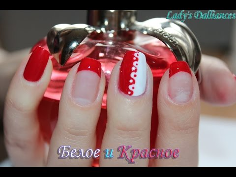 Видео Красное наращивание ногтей краснодар