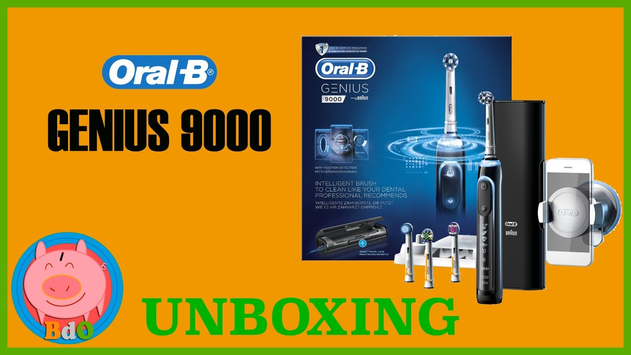 oral b genius 9000 unboxing cepillo de diente el ctrico braun youtube. Black Bedroom Furniture Sets. Home Design Ideas