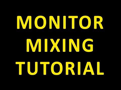 Audio Interface Monitor Mixing Tutorial Software vs. Hardware How to Guide