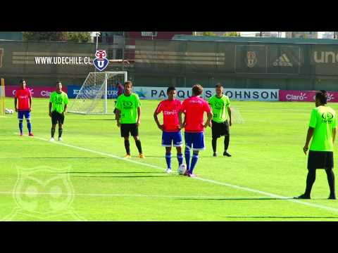 Partido amistoso || Universidad de Chile vs. Palestino