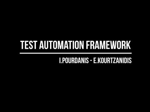 Meetup 3 - Test Automation Framework Intro