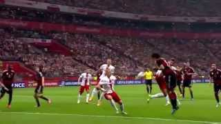 Polska - Niemcy 2:0 11.10.2014 Gole, Hymny - Stadion Narodowy