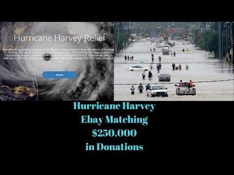 Hurricane Harvey, Texas Ebay & Amazon Sellers & How to Help LIVE!!