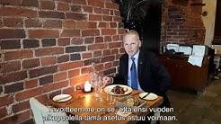 Ministeri Leppä lihan alkuperämerkinnöistä ravintoloissa 9.11.2017