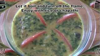 Spinach Dal Curry/palak Dal