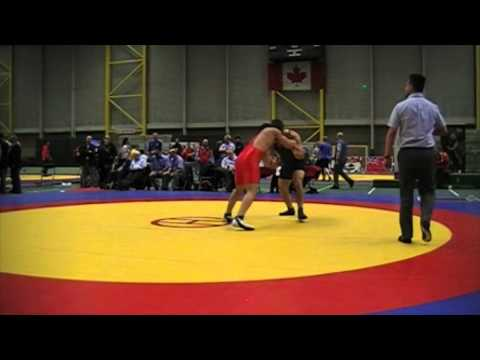 2014 Junior Greco-Roman National Championships: 96 kg Austin Batra vs. Kyle Bonk
