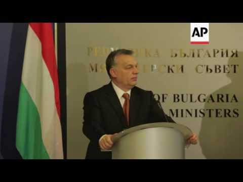 Hungary PM discusses migrant crisis in Bulgaria