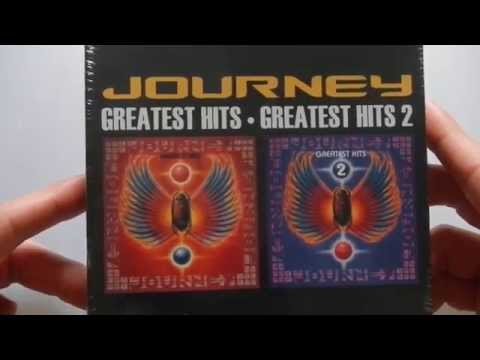 unboxing Journey Greatest hits 1 and 2