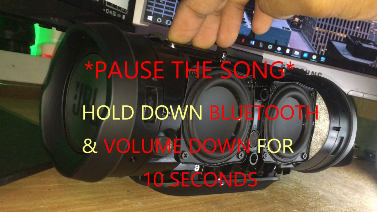 JBL Charge 3 - BASS BOOSTED!!!! Low Frequency Mode [2017]