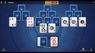 Microsoft Solitaire Collection - TriPeaks December 6 2016