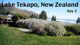 Most Beautiful Lake!! Lake Tekapo NZ - Feb 7, 2016 vlog CAMP DAY 3