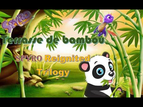 Spyro 3 Ps4 Terrasse De Bambou A 100 Spyro Reignited Trilogy