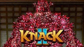 Knack 2 Gameplay German PS4 PRO - Knack ist unbesiegbar stark