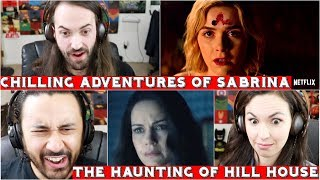 Chilling Adventures of Sabrina & The Haunting of Hill House (NETFLIX) - TRAILER REACTIONS!!!