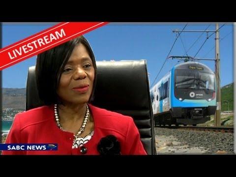 Thuli Madonsela's news conference about PRASA