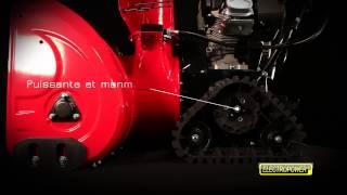 Fraise à neige thermique - 13 CV - Largeur 87 cm ELECTROPOWER