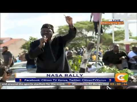 I will be sworn in as President on December 12 - Raila Odinga