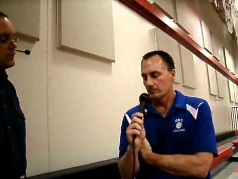 Coach Weller post-match interview after beating Nevis