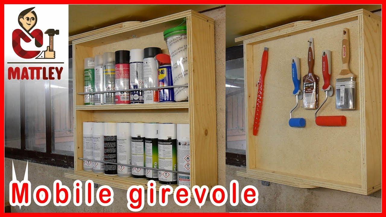 Captivating FAI DA TE | Mobile Girevole Porta Vernici E Strumenti Di Pittura