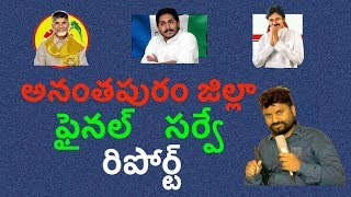 Final Survey Reports on TDP,YSRCP,JANASENA in Anantapur District.