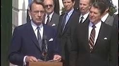 President Reagan Meeting with President Mauno Koivisto of Finland on September 27, 1983
