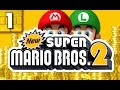 Let's Play New Super Mario Bros. 2 Multiplayer - Part 1