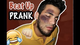 I GOT BEAT UP BY YOUR MOM PRANK ON GIRLFRIEND !