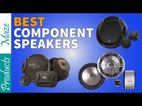 ✅ Car Speaker: 5 Best Component Speakers Reviewed in 2020 [Top Rated]