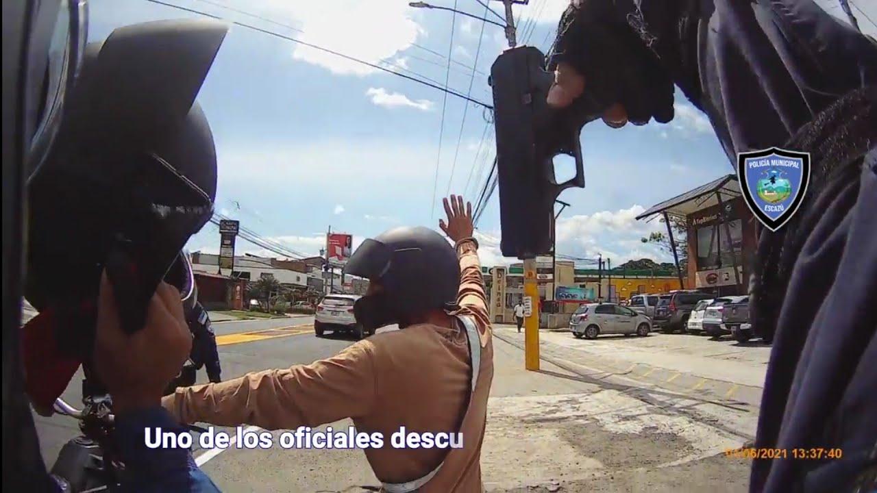 """""""Sicarios"""" armados detenidos por Policía Municipal de Escazú!!!"""