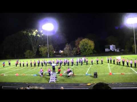 2013 Big Rapids High School Marching Band - Les Miserables