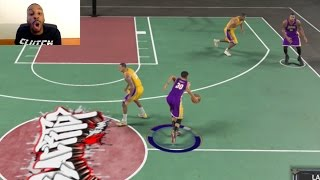 I Cross This Guy Up So Bad with Stephen Curry that His Dude Does a 360 and then he RAGE QUITS! LMAO!