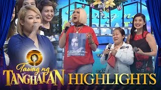 Tawag ng Tanghalan: Anne and Vice are happy to hear Sheena Evangelista's mother sing