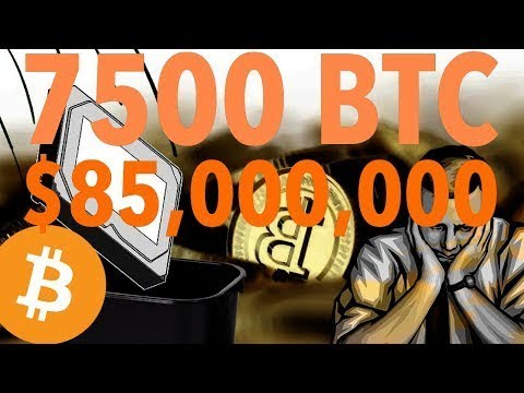 Breaking News - IT worker 'threw away Bitcoin drive 'now worth £75million'