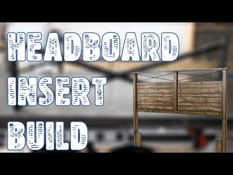 Metal Headboard Insert Build - Jimbos Garage