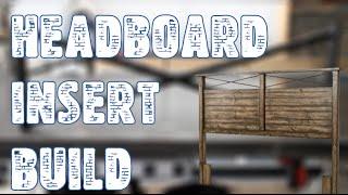 Target Mudhut Headboard Insert Build